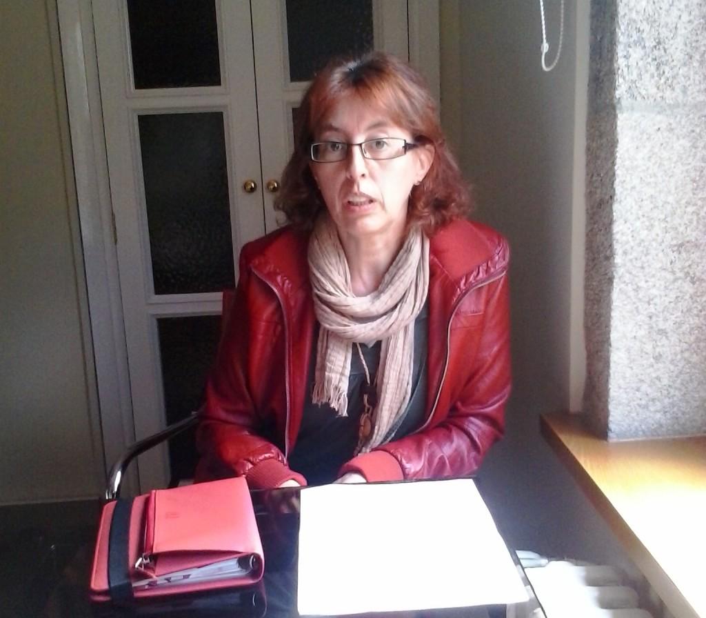 Dolores Díaz, docente no IES San Clemente