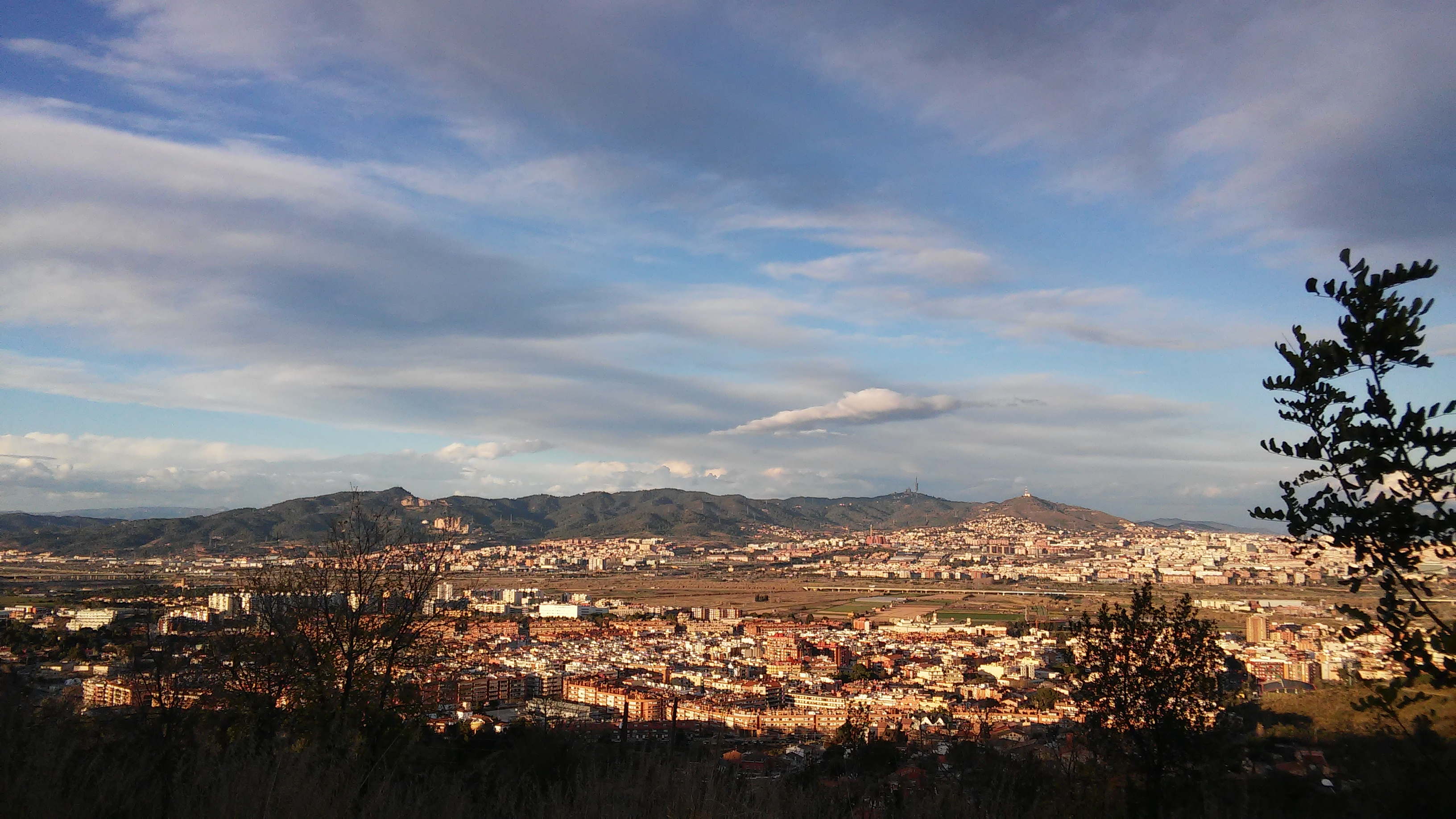 Val do Llobregat e cidade de Sant Boi.